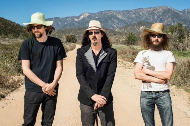 Guthrie Govan-led jazz rock trio The Aristocrats will play four in September. Photo by Mike Mesker/ courtesy of the band.