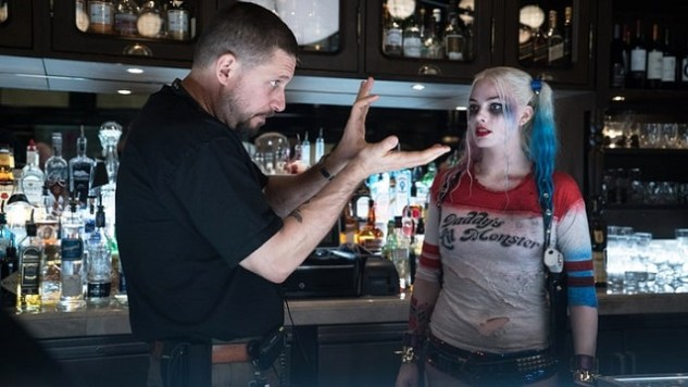 Director David Ayer (on set with Margot Robbie) talks 'Suicide Squad' goals and how he helped create a brand new Joker. Photo: Clay Enos/DC Comics