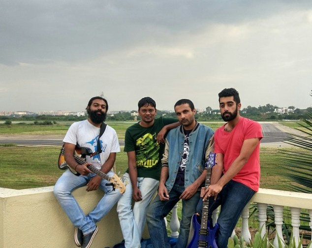 Bengaluru prog rock band Rainburn. Photo: Courtesy of the artist