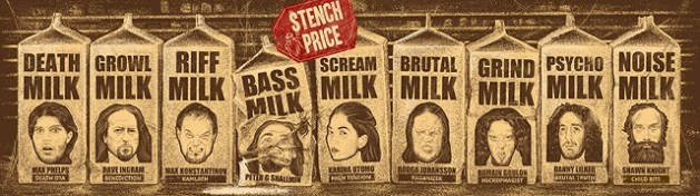 Stench Price EP's lineup