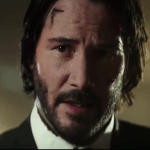 The bloody first trailer for 'John Wick: Chapter 2' premiered Saturday, with the assassin unretired, locked and loaded (and with a new pet dog).