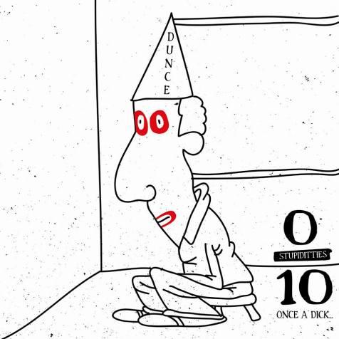 Stupiditties 10 artwork by Denver Fernandes.