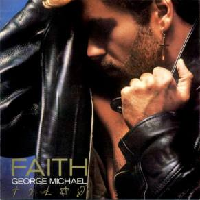 The album cover for George Michael's 'Faith.'