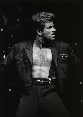 George Michael in 1988. Photo: Courtesy of Special Collections, University of Houston Libraries/Public Domain