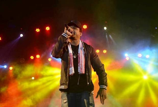 Mumbai rapper Divine performs at Day 1 of Rongali. Photo: Courtesy of Rongali Festival/Photocraft Studio