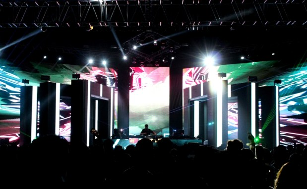 Spectrum was our favorite stage in terms of design. Photo: Saahil Singh Yaduvanshi