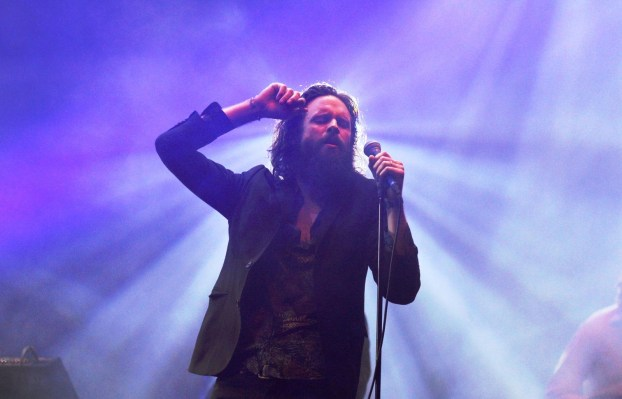 """Father John Misty, who dabbled as a songwriter for hit makers like Beyoncé and Lady Gaga, posted a trio of tracks with the title """"Generic Pop Song."""" Photo: Ana Viotti/Side Stage Collective via Flickr/ cc by sa 2.0"""