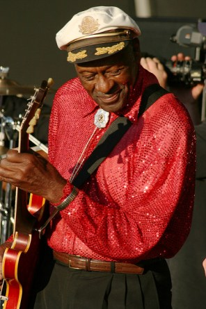 Chuck Berry in 2008. Photo: Flickr user: Docmonstereyes/CC BY 2.0