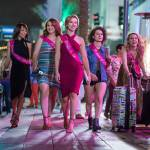 Scarlett Johansson's bachelorette party turns into a crime scene in the hilarious trailer for 'Rough Night.'