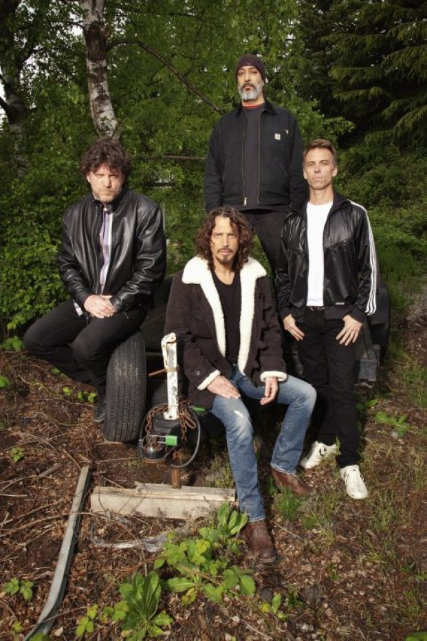 Chris Cornell with Soundgarden. Photo: Michael Lavine