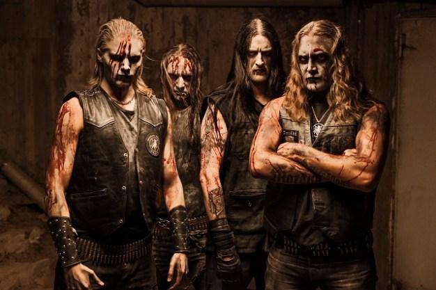 Marduk: (from left) Widigs, Mortuus, Devo, Morgan. Photo: Courtesy of Century Media