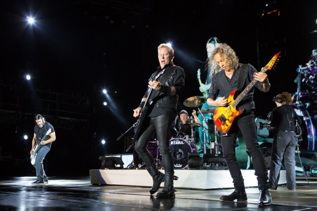 Metallica live at Rock on the Range 2017 in Columbus, Ohio. Photo: Kenny Bahr