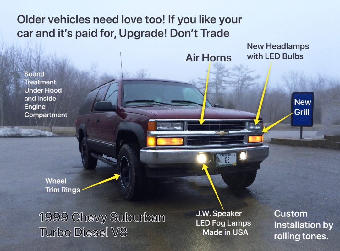 hight resolution of upgrade older vehicles with lighting trim stereo installation