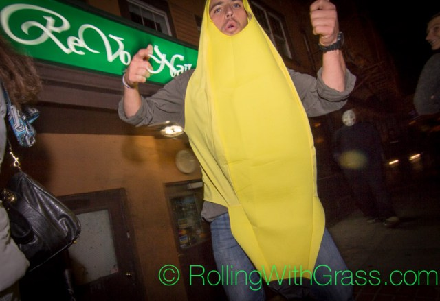 Banana Man Halloween Grass DC 2014