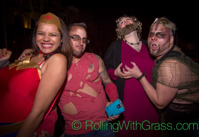Hot Mess on U Street Halloween Grass DC 2014