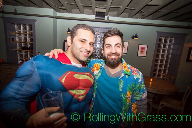 Guys at Fainting Goat Halloween Grass DC 2014