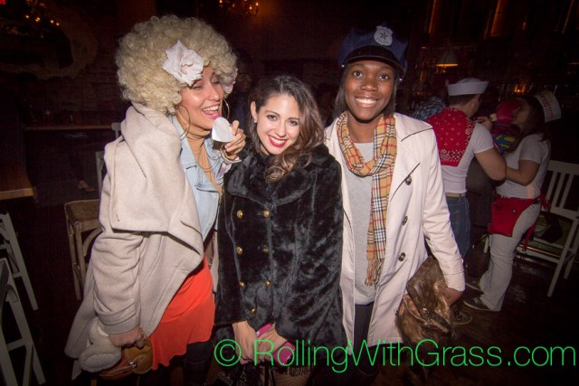 Lovely Ladies at Fainting Goat Halloween Grass DC 2014