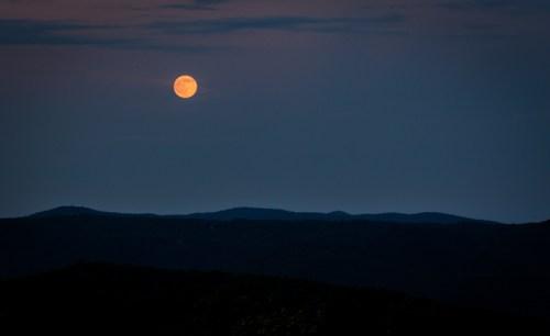 Mountain Falls moonrise