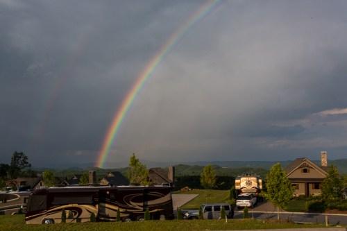 Mountain Falls Double Rainbow