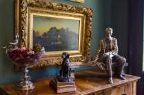 Pure Silver Lincoln Statue
