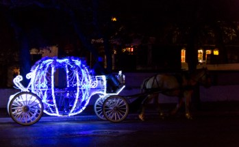 I loved the horse carriages