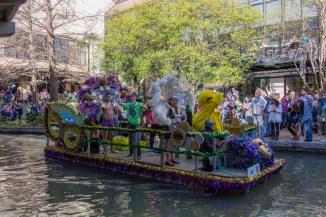 Mardi Gras Parade on the River