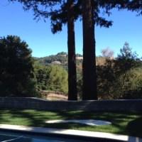 Smoldering Ranch House