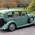 Peabody, Rolls Royce Wedding Car