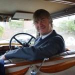 JP at the wheel © Rolls-Royce Wedding