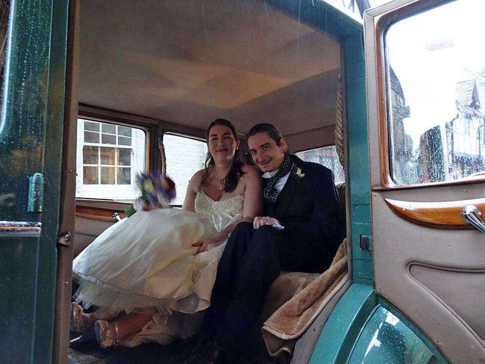 Lucy and Matt @ Rolls-Royce Wedding