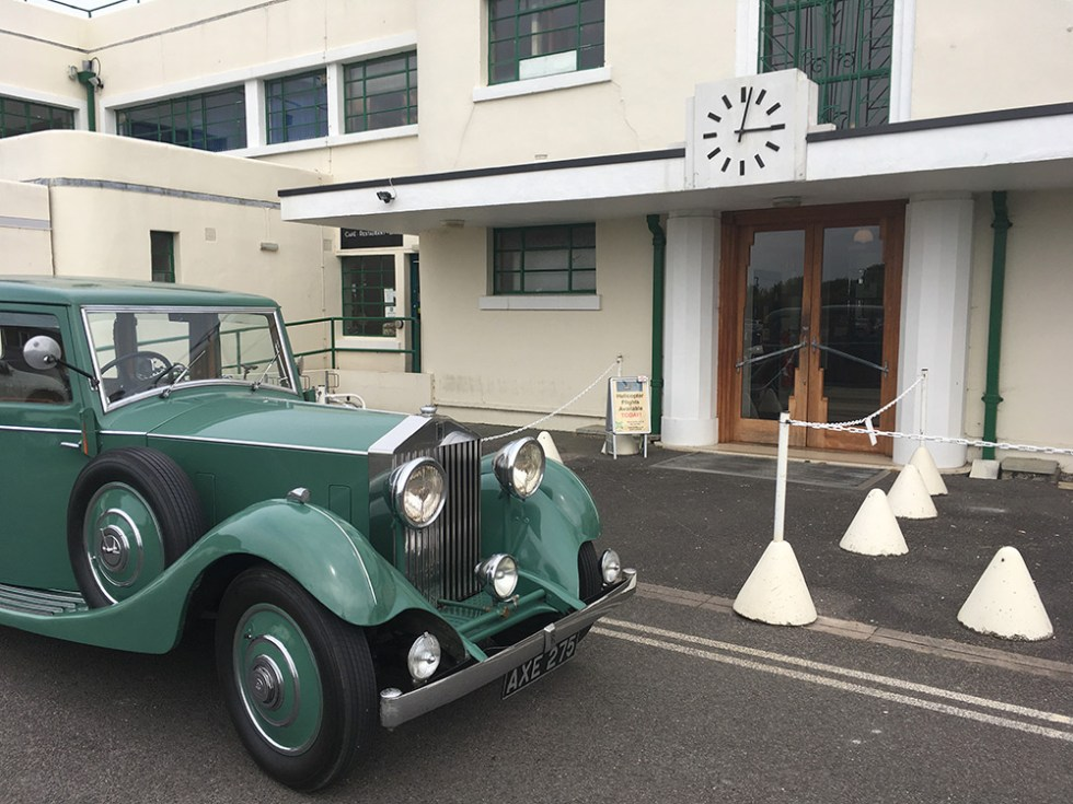 Rolls-Royce Wedding's Peabody at Brighton City Airport