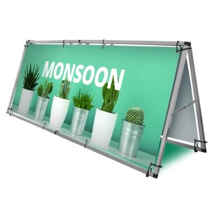 BANNER STATIV MONSOON – 2 STØRRELSER
