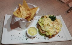 Baked Egg Cheese Sandwich (RM15.90)