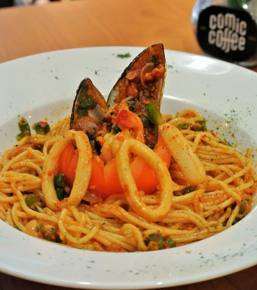 Seafood Aglio-Olio - RM15.90