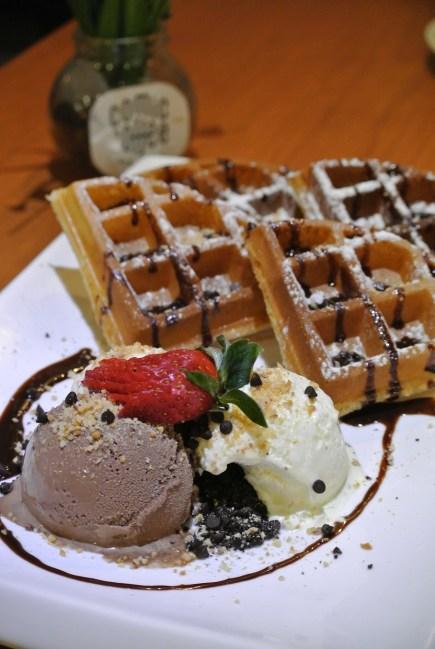 Ice Cream Waffle - RM10.90