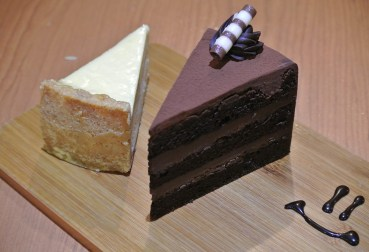From left: New York Cheese & Chocolate Devil