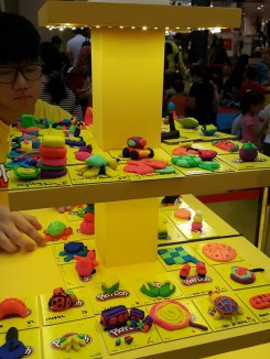Play Doh Display