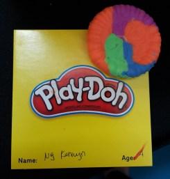 Wyn's Play-Doh creation