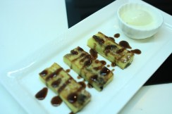 Fried Bread and Butter Pudding