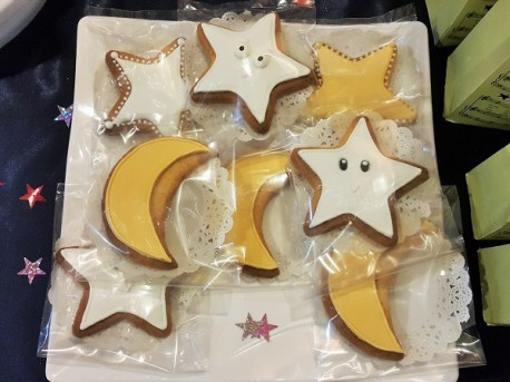 Stars & Moon Cookies