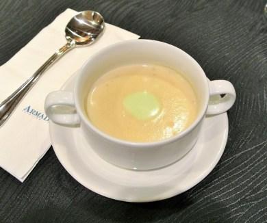 Dubarry Soup with Cheese Batonette - Utara Coffee House, Armada Hotel