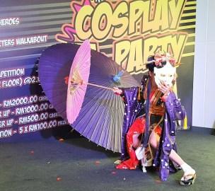 Dancing Cosplayers KP