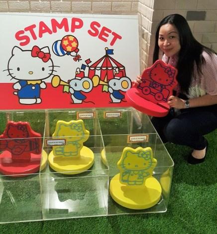 Stamp set - HKGA