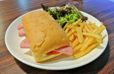 Chicken Ham Sandwich - Iggo Cafe