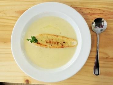 Leek Potato Soup -