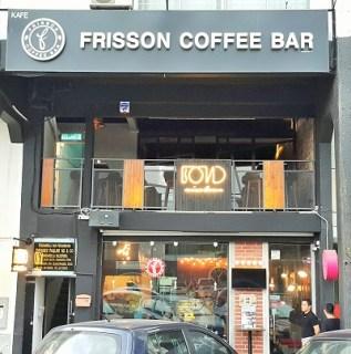Frisson Coffee Bar Entrance