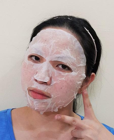 Apply bihadagoyomi Mask