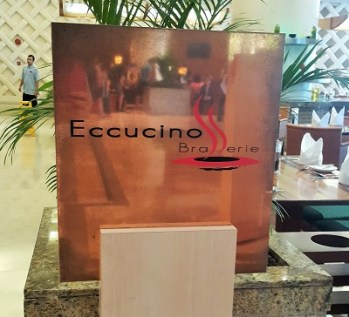Eccucino Brasserie- Pullman KLCC