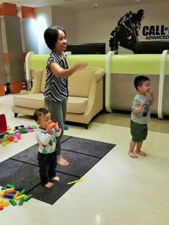 Kids funtime at The Zone - Pullman KLCC