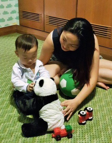 Playing toys family suite - Pullman KLCC